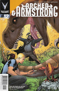 Cover Thumbnail for Archer and Armstrong (Valiant Entertainment, 2012 series) #12 [Cover A - Emanuela Lupacchino]