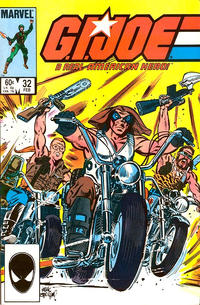 Cover Thumbnail for G.I. Joe, A Real American Hero (Marvel, 1982 series) #32 [Direct Edition]