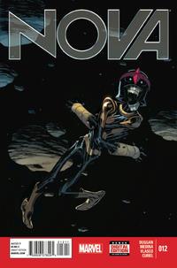Cover for Nova (Marvel, 2013 series) #12