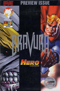 Cover Thumbnail for Bravura (Malibu, 1995 series) #1/2 [Platinum Edition]