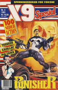 Cover Thumbnail for X9 Spesial (Semic, 1990 series) #3/1991