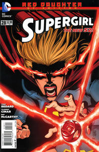 Cover Thumbnail for Supergirl (DC, 2011 series) #28 [Direct Sales]