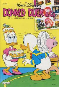 Cover Thumbnail for Donald Duck & Co (Hjemmet / Egmont, 1948 series) #6/1987