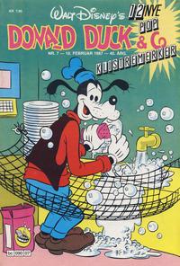 Cover Thumbnail for Donald Duck & Co (Hjemmet / Egmont, 1948 series) #7/1987
