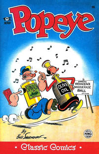 Cover Thumbnail for Classic Popeye (IDW, 2012 series) #8