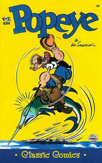 Cover Thumbnail for Classic Popeye (IDW, 2012 series) #9