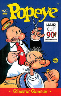 Cover Thumbnail for Classic Popeye (IDW, 2012 series) #11