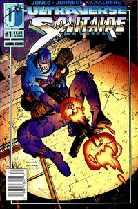 Cover for Solitaire (Malibu, 1993 series) #1 [Newsstand]