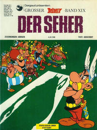 Cover Thumbnail for Asterix (Egmont Ehapa, 1968 series) #19 - Der Seher [1. Aufl. 1975]