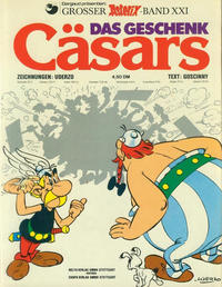 Cover for Asterix (Egmont Ehapa, 1968 series) #21 - Das Geschenk Cäsars