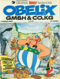 Cover Thumbnail for Asterix (Egmont Ehapa, 1968 series) #23 - Obelix GmbH & Co. KG [1. Aufl. 1978]