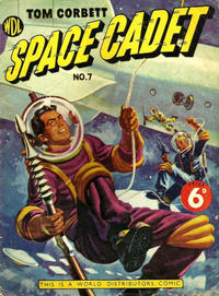 Cover Thumbnail for Tom Corbett Space Cadet (World Distributors, 1953 series) #7