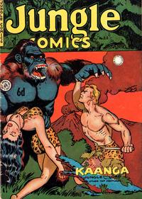 Cover Thumbnail for Jungle Comics (H. John Edwards, 1950 ? series) #22
