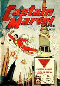 Cover Thumbnail for Captain Marvel Adventures (L. Miller & Son, 1950 series) #54