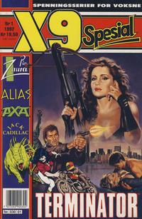 Cover Thumbnail for X9 Spesial (Semic, 1990 series) #1/1992