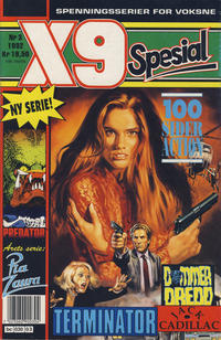 Cover Thumbnail for X9 Spesial (Semic, 1990 series) #3/1992