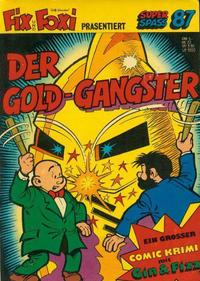 Cover Thumbnail for Kauka Super Serie (Gevacur, 1970 series) #87 - Gin und Fizz - Der Gold-Gangster