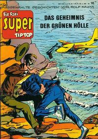 Cover Thumbnail for Fix und Foxi Super (Gevacur, 1967 series) #16 - Kouki: Das Geheimnis der grünen Hölle