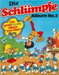 Cover Thumbnail for Die Schlümpfe (Gevacur, 1976 series) #2