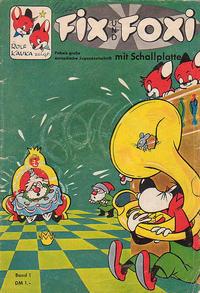 Cover Thumbnail for Fix und Foxi mit Schallplatte (Pabel Verlag, 1960 series) #1