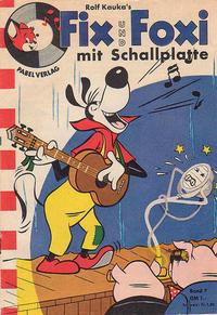 Cover Thumbnail for Fix und Foxi mit Schallplatte (Pabel Verlag, 1960 series) #7