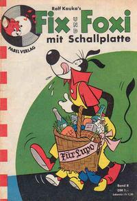 Cover Thumbnail for Fix und Foxi mit Schallplatte (Pabel Verlag, 1960 series) #8