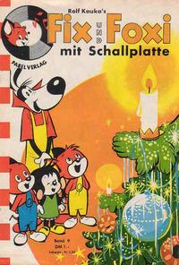 Cover Thumbnail for Fix und Foxi mit Schallplatte (Pabel Verlag, 1960 series) #9