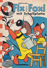 Cover Thumbnail for Fix und Foxi mit Schallplatte (Pabel Verlag, 1960 series) #10