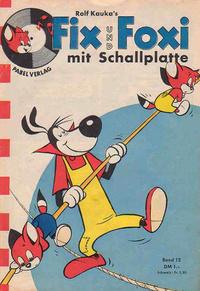 Cover Thumbnail for Fix und Foxi mit Schallplatte (Pabel Verlag, 1960 series) #12