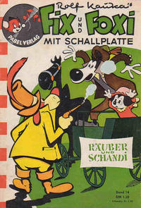 Cover Thumbnail for Fix und Foxi mit Schallplatte (Pabel Verlag, 1960 series) #14