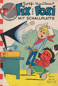 Cover Thumbnail for Fix und Foxi mit Schallplatte (Pabel Verlag, 1960 series) #15