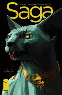 Cover Thumbnail for Saga (Image, 2012 series) #18