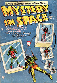 Cover Thumbnail for Mystery in Space (L. Miller & Son, 1955 ? series) #5