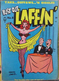 Cover Thumbnail for Bust Out Laffin' (Toby, 1954 series) #8