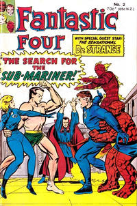 Cover Thumbnail for Fantastic Four (Yaffa / Page, 1981 series) #2