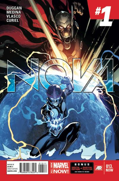Cover for Nova (Marvel, 2013 series) #13.NOW