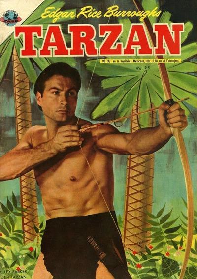 Cover for Tarzán (Editorial Novaro, 1951 series) #25