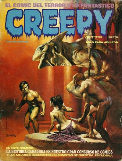 Cover for Creepy (Toutain Editor, 1979 series) #23