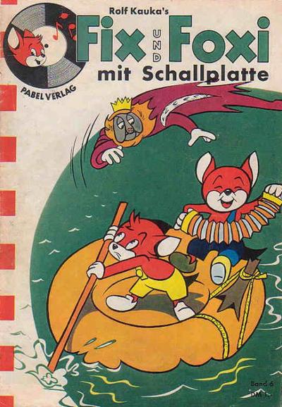 Cover for Fix und Foxi mit Schallplatte (Pabel Verlag, 1960 series) #6