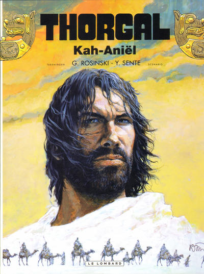 Cover for Thorgal (Le Lombard, 1980 series) #34 - Kah-Aniël