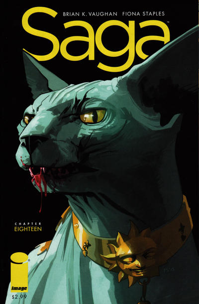 Cover for Saga (Image, 2012 series) #18