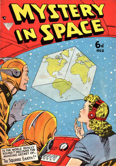 Cover for Mystery in Space (L. Miller & Son, 1955 ? series) #2