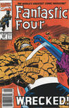 Cover Thumbnail for Fantastic Four (1961 series) #355 [Newsstand]
