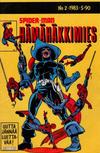 Cover for Hämähäkkimies (Semic, 1980 series) #2/1983