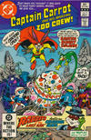 Cover for Captain Carrot and His Amazing Zoo Crew! (DC, 1982 series) #5 [Direct]