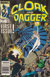 Cover for Cloak and Dagger (Marvel, 1985 series) #1 [Newsstand Edition]