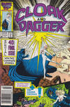 Cover for Cloak and Dagger (Marvel, 1985 series) #11 [Newsstand Edition]