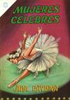Cover for Mujeres Célebres (Editorial Novaro, 1961 series) #49