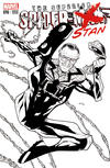 Cover Thumbnail for Superior Spider-Man (2013 series) #16 [2013 Toronto Fan Expo Exclusive Black & White Variant featuring Stan Lee]