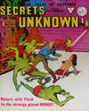 Cover for Secrets of the Unknown (Alan Class, 1962 series) #90